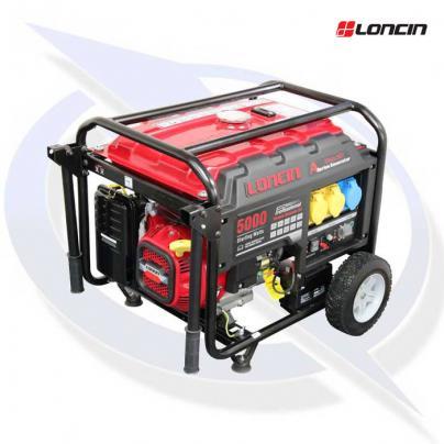 loncin lc5000d-as 5.0kva / 4.0kw frame mounted petrol generator