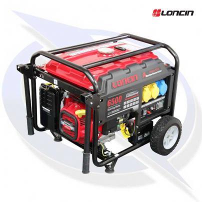 loncin lc6500d-as 6.2kva / 5.0kw frame mounted petrol generator