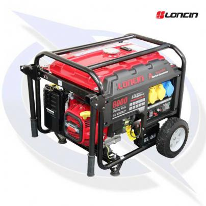 loncin lc8000d-as 7.5kva/6.0kw frame mounted petrol generator