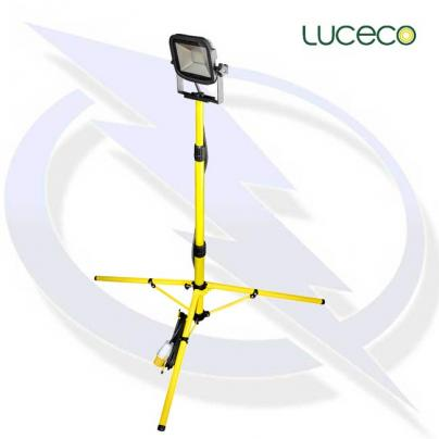 luceco site 110v single head tripod