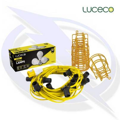 luceco site 110v ES Festoon Kit 16a Plug