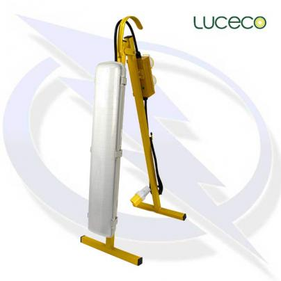 luceco site 110v plasterers 30w plug out