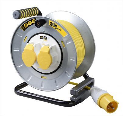 30M 16A 110V Metal Open Reel
