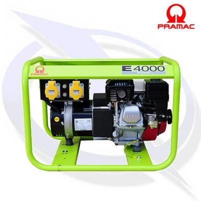 PRAMAC E4000 3.4 KVA/3.1KW 110V CTE PETROL GENERATOR