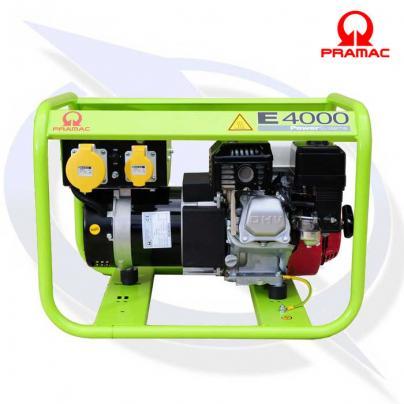 Pramac E4000 3.3 kVA / 2.7 kW Frame Mounted Petrol Generator