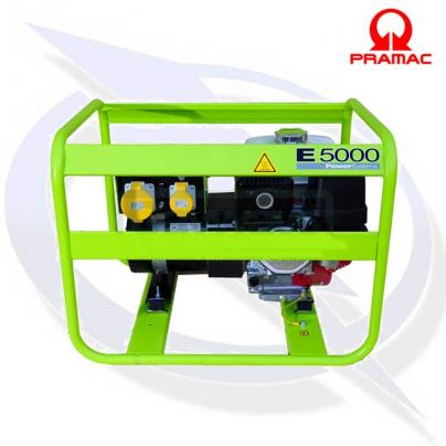 PRAMAC E5000 5KVA/4.6KW DUAL VOLTAGE PETROL GENERATOR