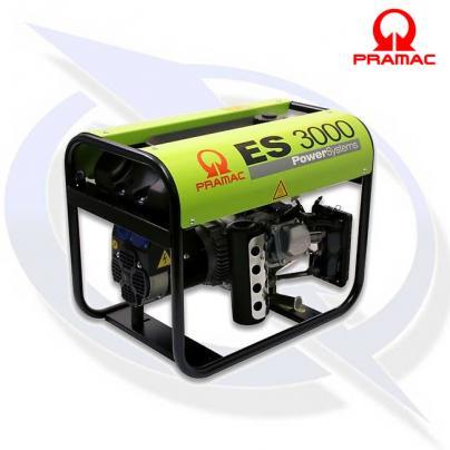 Pramac ES3000 4.2 kVA/2.3 kW Frame Mounted Honda Long Run Petrol Generator