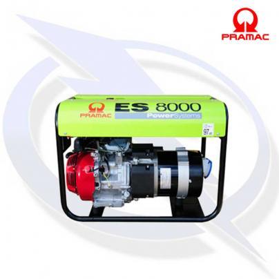 Pramac ES8000 6.0 kVA/5.5 kW Frame Mounted Long Run AVR Petrol Generator
