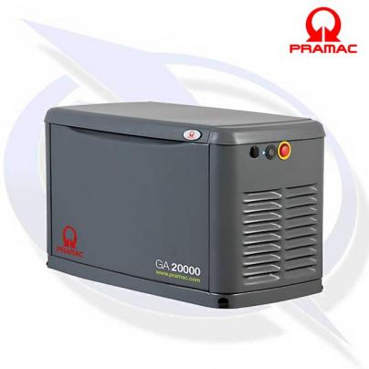 PRAMAC GA20000 20KVA/20KW LPG OR GAS HOME BACKUP GENERATOR