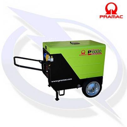pramac p6000 inc wheel kit 4.8KVA/4.3kw diesel generator