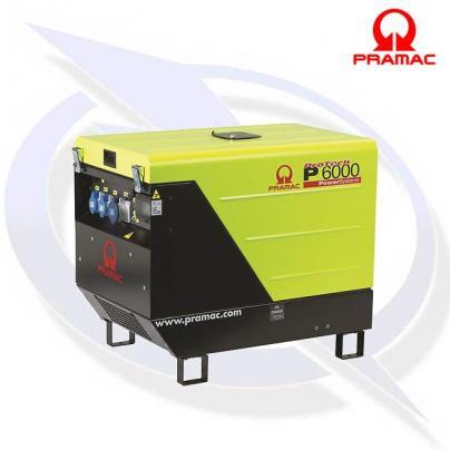 Pramac P6000 5.9kVA/5.3kW 230V AVR + CONN + DPP Diesel Generator