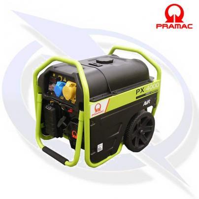 Pramac PX4000 3kVA/2.7kW PETROL GENERATOR WITH AVR