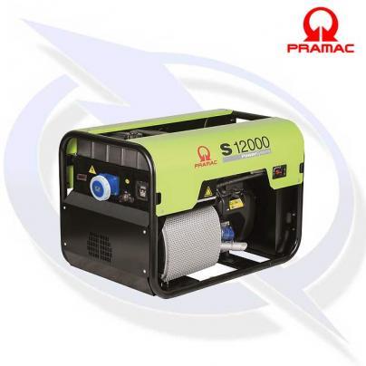 PRAMAC S12000 10KVA/9KW 63A Petrol Generator with AVR