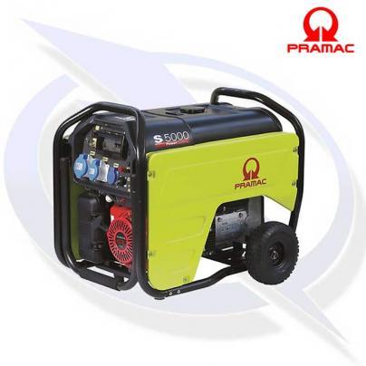 Pramac S5000 4KVA/4KW Petrol Generator with AVR, RCD & CONN
