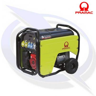 PRAMAC S5000 5KVA/4KW Petrol Generator with Electric Start