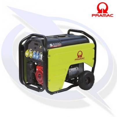 PRAMAC S5000 5.3KVA/4.8KW LONG RUN PETROL GENERATOR