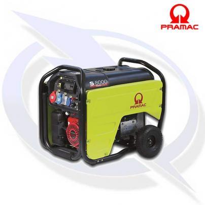 Pramac S8000 7KVA/6KW 400v Petrol Generator with AVR