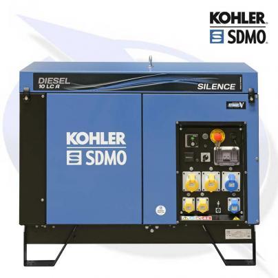 SDMO DIESEL10 LC A C5 SILENCE 8.3kW DIESEL CANOPIED GENERATOR