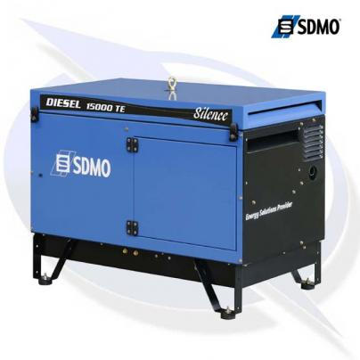 SDMO Diesel Silence 15000TE 3 Phase 12.5kVA/10.0kW Canopied Generator