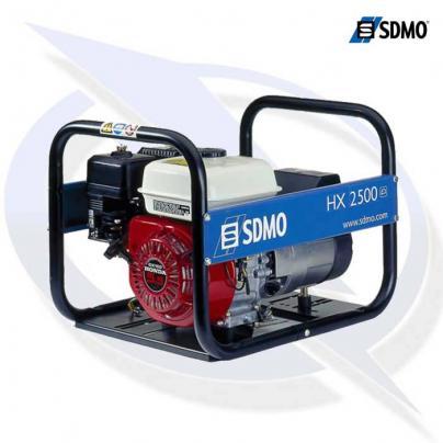 sdmo intens hx2500 2.75kVA/2.2kW frame mounted honda petrol generator