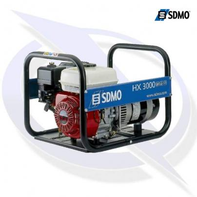 sdmo intens hx3000 3.75kva/3.0kw frame mounted honda petrol generator