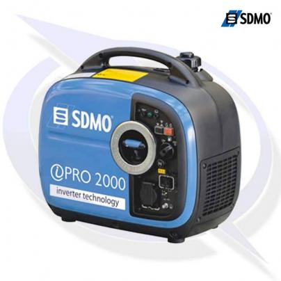 sdmo ipro 2000 2.0kva/1.6kw yamaha powered inverter generator