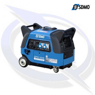 sdmo ipro 3000e 3.0kva/2.8kw yamaha powered inverter generator