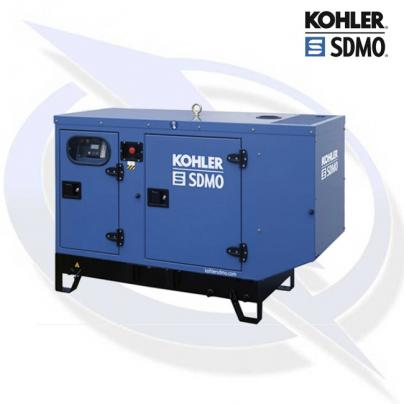 SDMO K12 12KVA/9.6KW THREE PHASE INDUSTRIAL SILENT DIESEL CANOPY GENERATOR