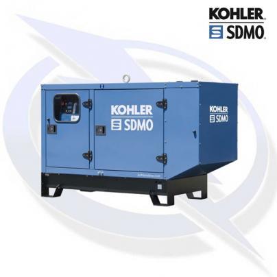 SDMO K44 44KVA/35KW THREE PHASE INDUSTRIAL SILENT DIESEL CANOPY GENERATOR