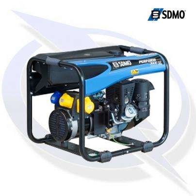 SDMO Perform 3000 XL TB 3.75kVA/3kW Long Run Frame Mounted Petrol Generator