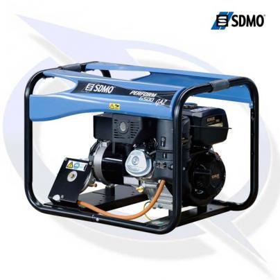 SDMO Perform 6500 GAZ TB 7.25kVA/5.8kW Framed Dual Fuel Generator