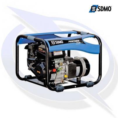 sdmo perform 7500t 3 phase 8.15kva/6.5.5kw frame mounted petrol generator