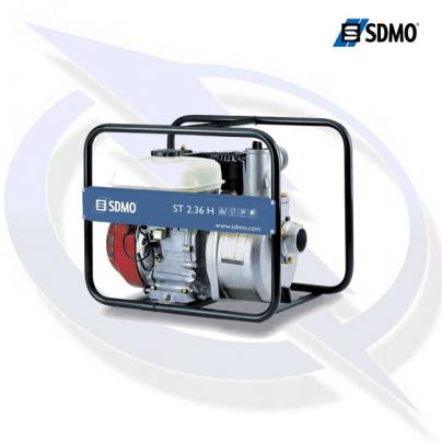 SDMO ST2.36H 2 Inch Petrol Powered Clean Water Pump
