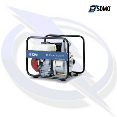 SDMO TR2.36H 2 Inch Petrol Powered Trash Water Pump