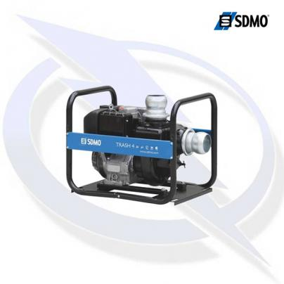 SDMO 'Trash 4' 4 Inch Diesel Powered Trash Water Pump