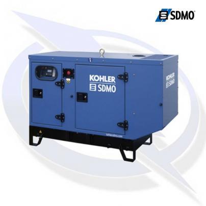 SDMO K17M 17.2KVA/17.2KW 230V SINGLE PHASE INDUSTRIAL SILENT DIESEL CANOPY GENERATOR