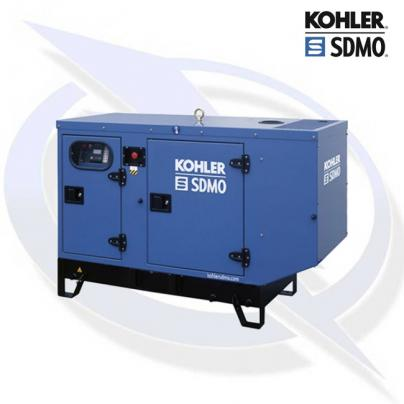 SDMO T16K 16KVA/12.8KW THREE PHASE INDUSTRIAL SILENT DIESEL CANOPY GENERATOR