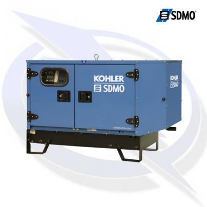 SDMO K26M 26KVA/26KW 230V SINGLE PHASE INDUSTRIAL SILENT DIESEL CANOPY GENERATOR