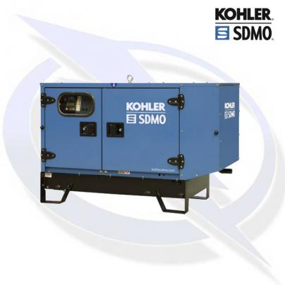 SDMO T9KM 8.6KVA/8.6KW SINGLE PHASE INDUSTRIAL SILENT DIESEL CANOPY GENERATOR