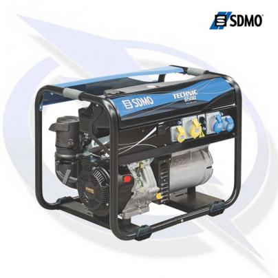 SDMO Technic 6500 8.15kVA/6.5 kW Frame Mounted Petrol Generator