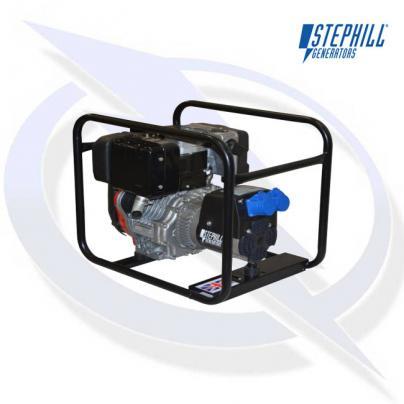 Stephill 2600LMEX 2.6KVA / 2.1KW Lombardini Export Diesel Generator