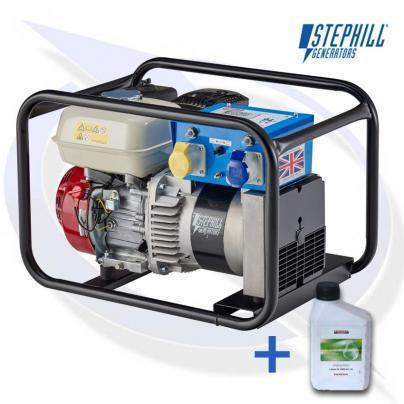 Stephill 2700HMS 2.7kVA / 2.2KW Frame Mounted Petrol Generator