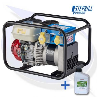 Stephill 3400HM4S 3.4kVA / 2.7KW Frame Mounted Petrol Generator