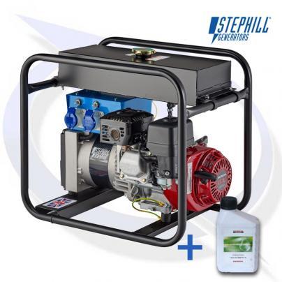 Stephill 3400HM4SLR 3.4kVA / 2.7KW Honda Petrol Generator