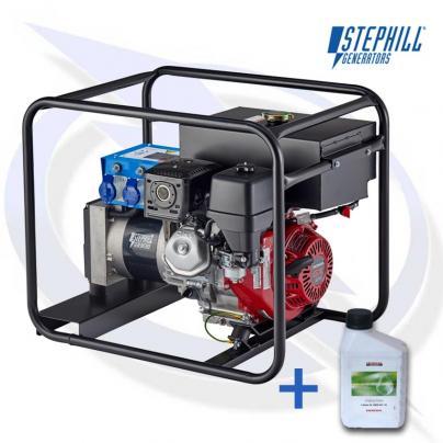 Stephill 5000 HMSLR 5kVA / 4KW Honda Petrol Generator