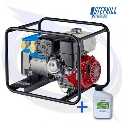STEPHILL 6500HMS 6.5KVA / 5.2KW  HONDA GX390 PETROL GENERATOR