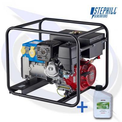 Stephill 6500HMSLR 6.5kVA / 5.2KW Honda Petrol Generator
