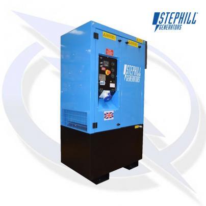 Stephill SSDK10W3T AVR 10.2kVA/8.2kW Welfare Cabin Diesel Generator