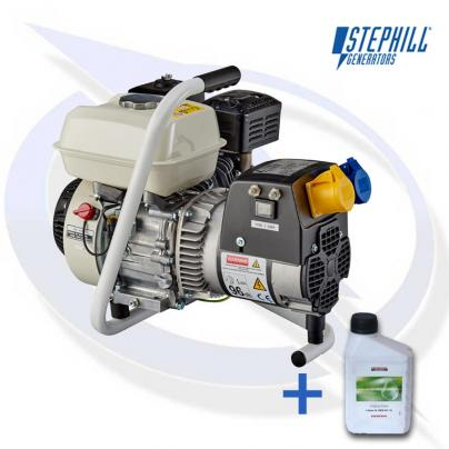 Stephill GE2501 2.5kVA / 2.0KW Honda Petrol Generator with Carry Handle