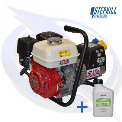 Stephill SE2701 2.7kVA/2.2kW Honda GX160 Petrol Generator